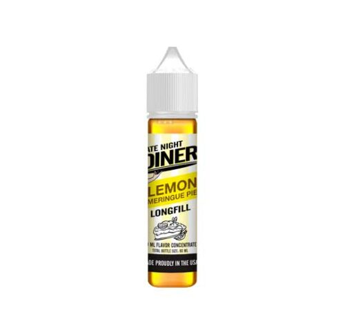 Lemon Meringue Pie 20ml (60ml) – Late Night Diner Flavourshots